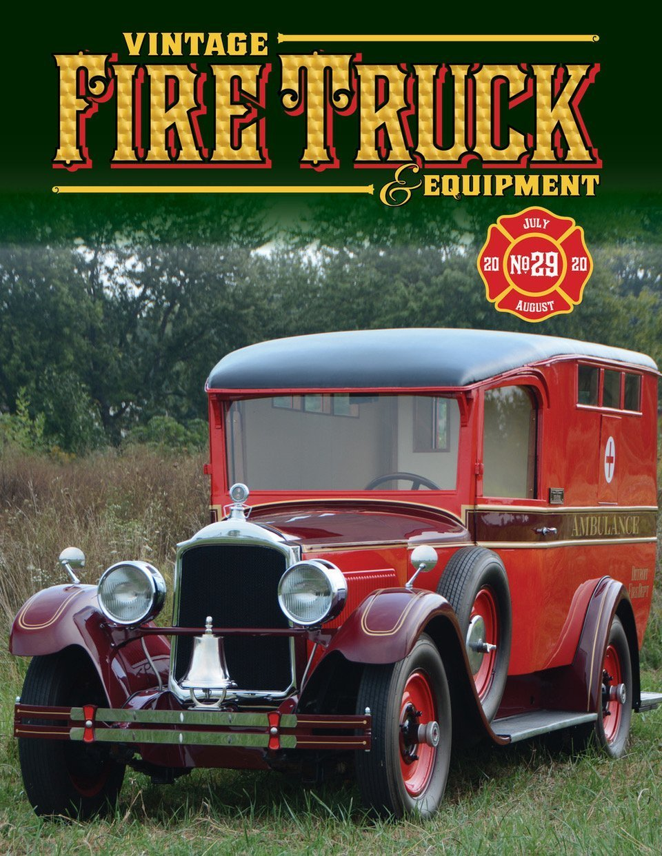 Vintage Fire Truck Magazine Issue 29